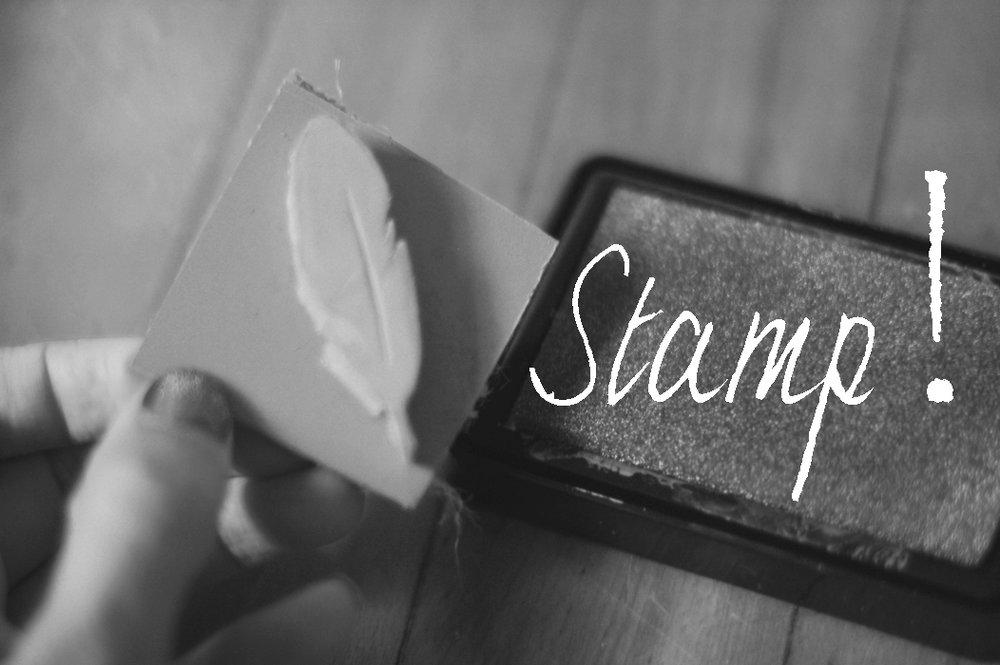stamp it