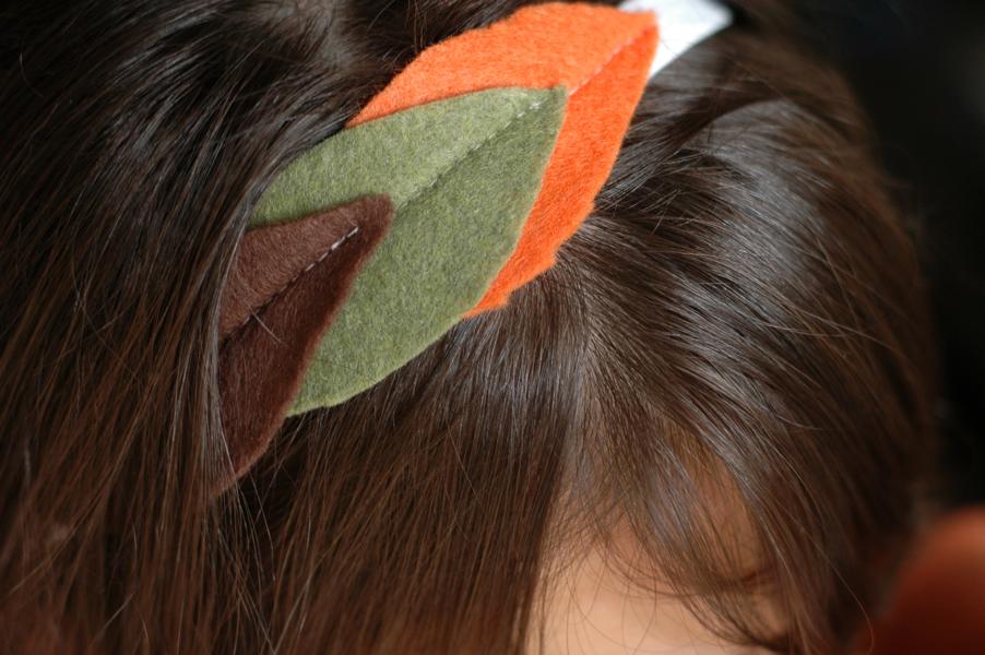 fall leaf headband