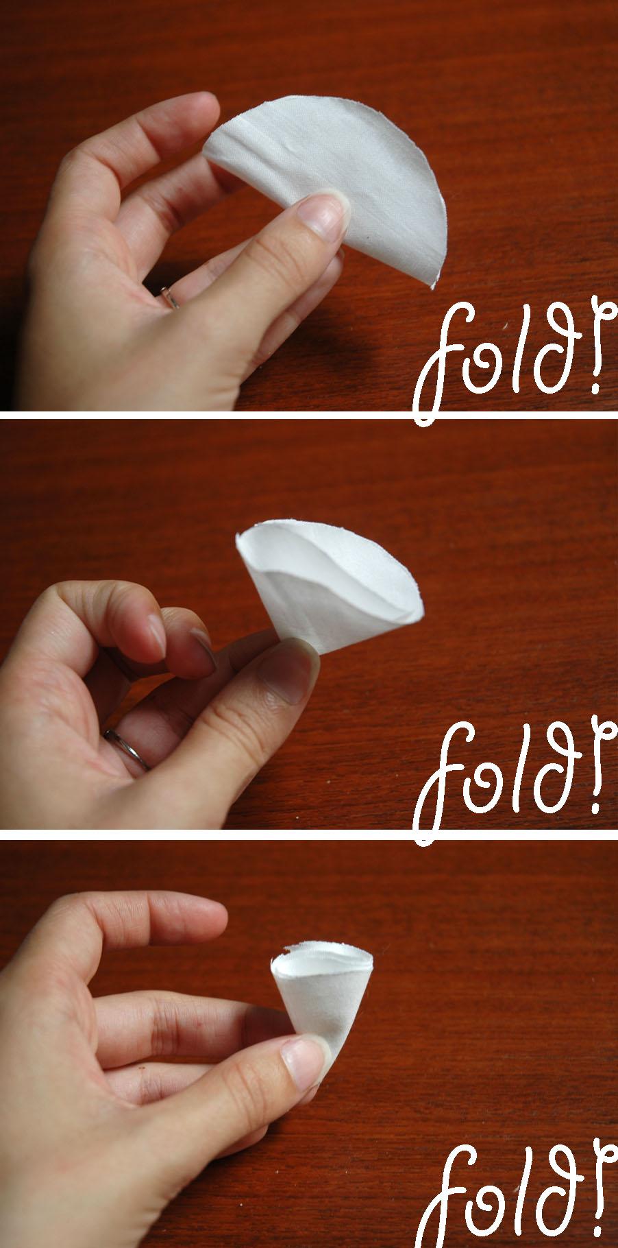 fold over circles
