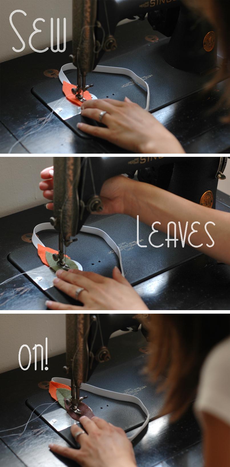 sew leaves