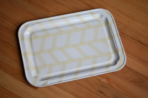 Fine and Feathered Tray DIY
