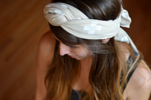 Fine and Feathered Printed Head Scarf