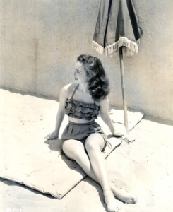 Fine and Feathered 1940s swim wear