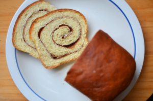 Fine and Feathered Cinnamon Bread