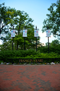 Franklin Square Philadelphia - Fine and Feathered