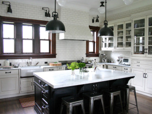 Kitchen Inspiration via Fine and Feathered