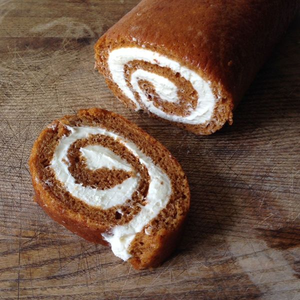 Fine and Feathered Pumpkin Roll