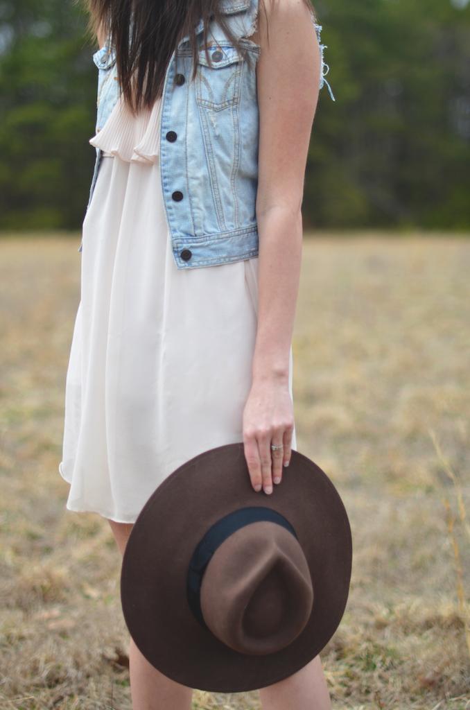 spring dress hat