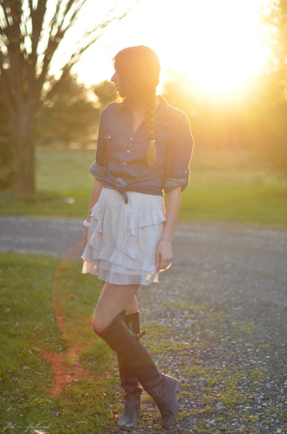 Spring Skirt Style
