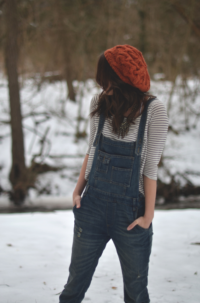 Overalls Stripes Outfit
