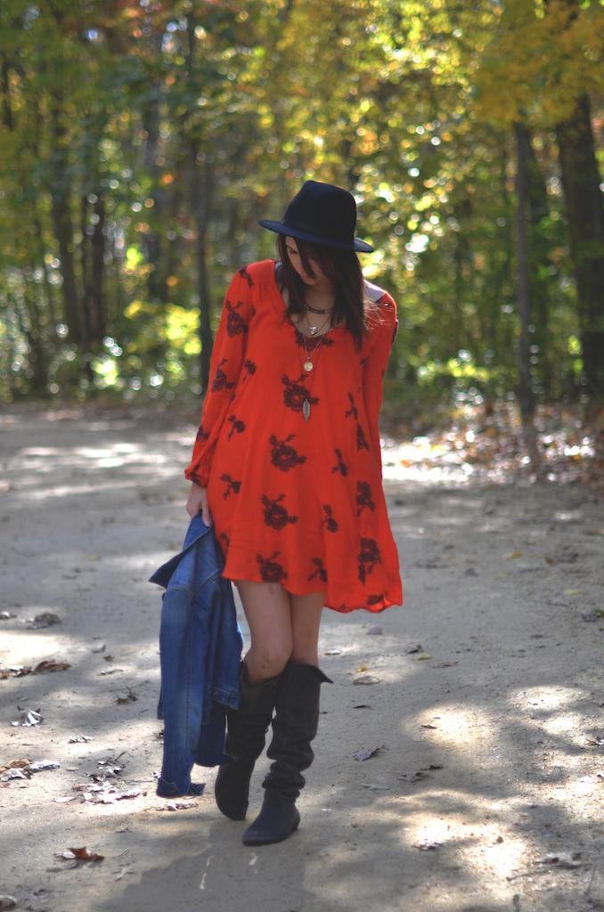 Free People Austin Dress Fall Style
