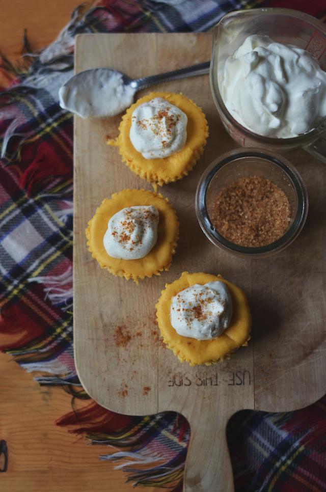 Mini Pumpkin Cheesecakes Recipe