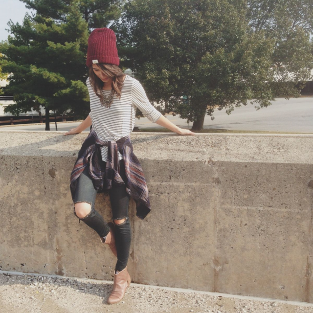 Free People Fall Style Grunge