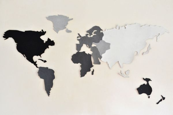 Anthropologie Cork Map DIY