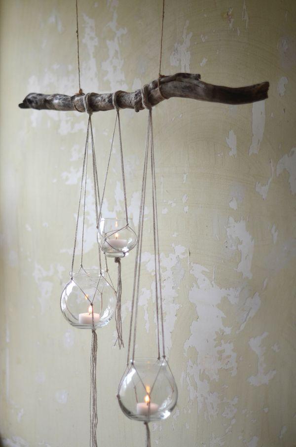 Hanging Cancles DIY
