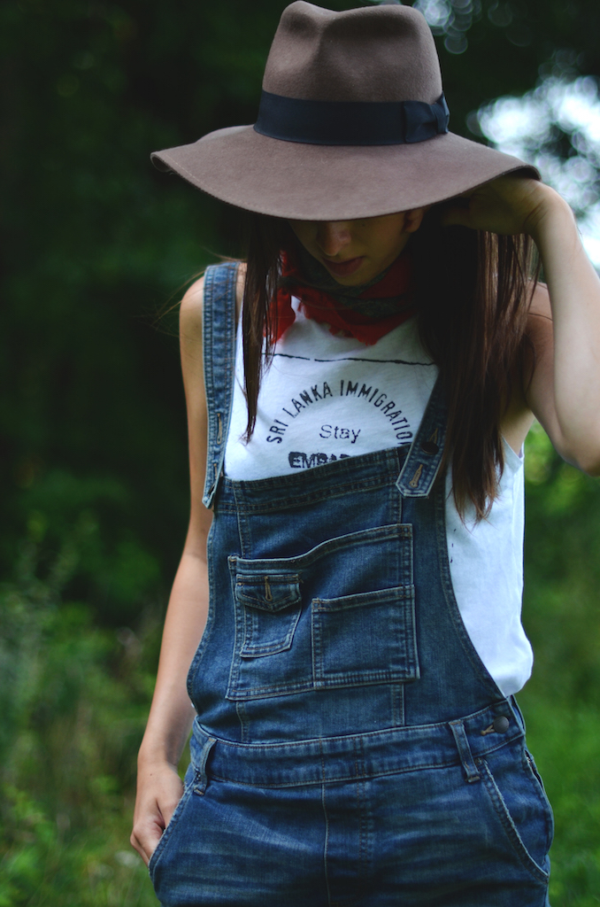 Fine and Feathered - Summer Shortalls