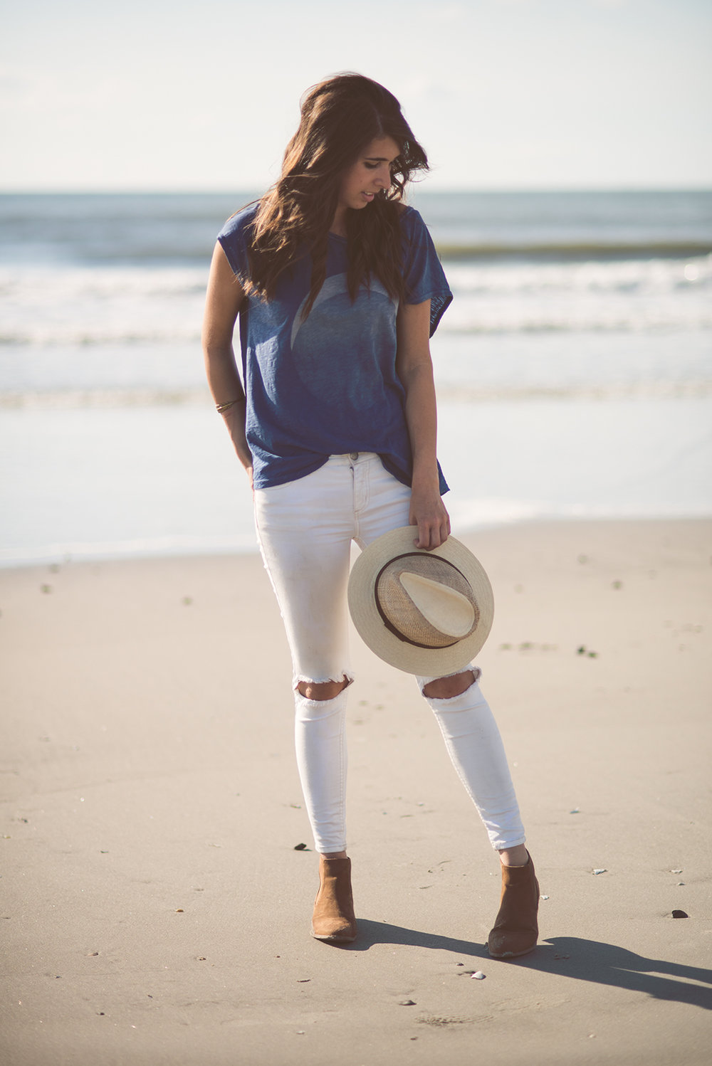 Fine and Feathered - Beach Style