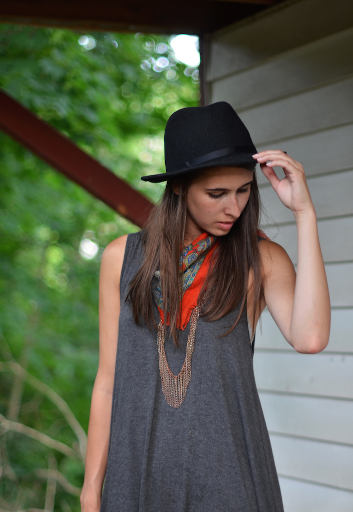 Fine and Feathered - Free People Tunic Styled
