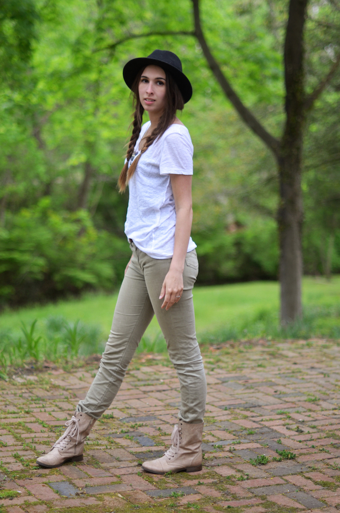 Fine and Feathered - White Tee Style