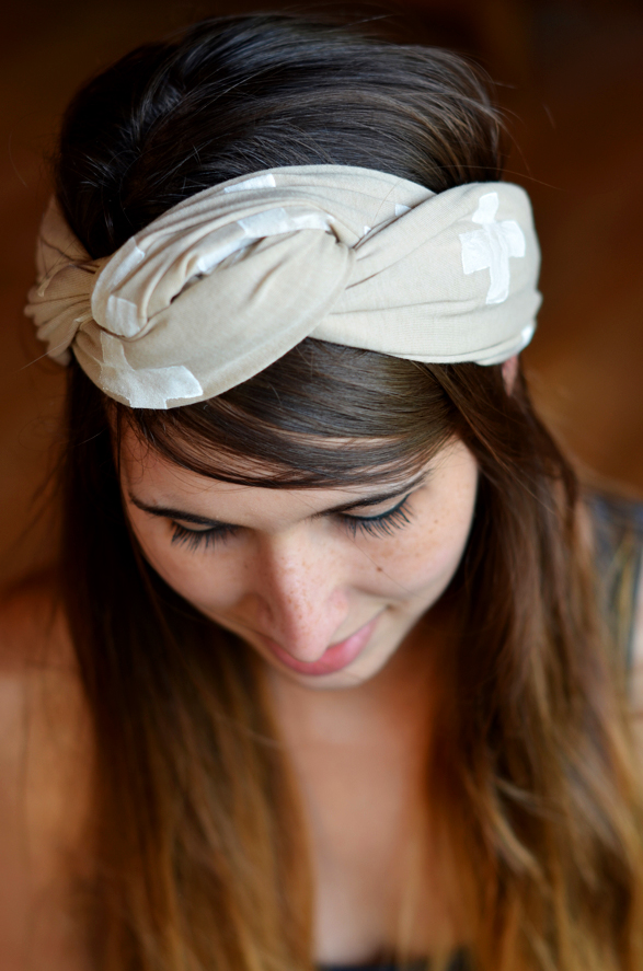 Fine and Feathered - Head Scarf DIY