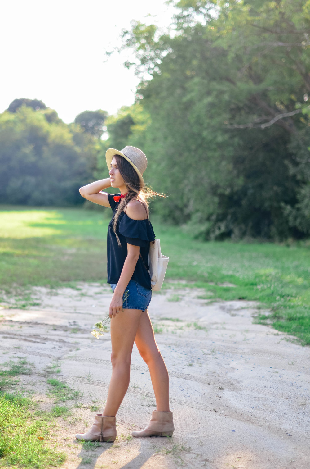 Fine and Feathered - Summer Outfit Style