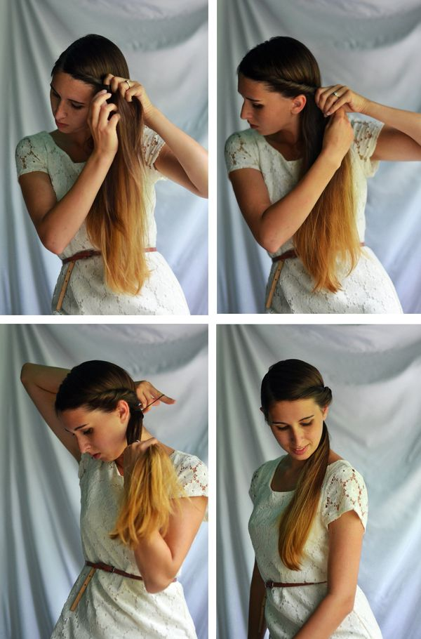 Fine and Feathered Hair Twist tutorial