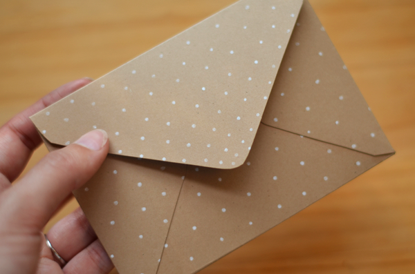 Fine and Feathered DIY Envelope