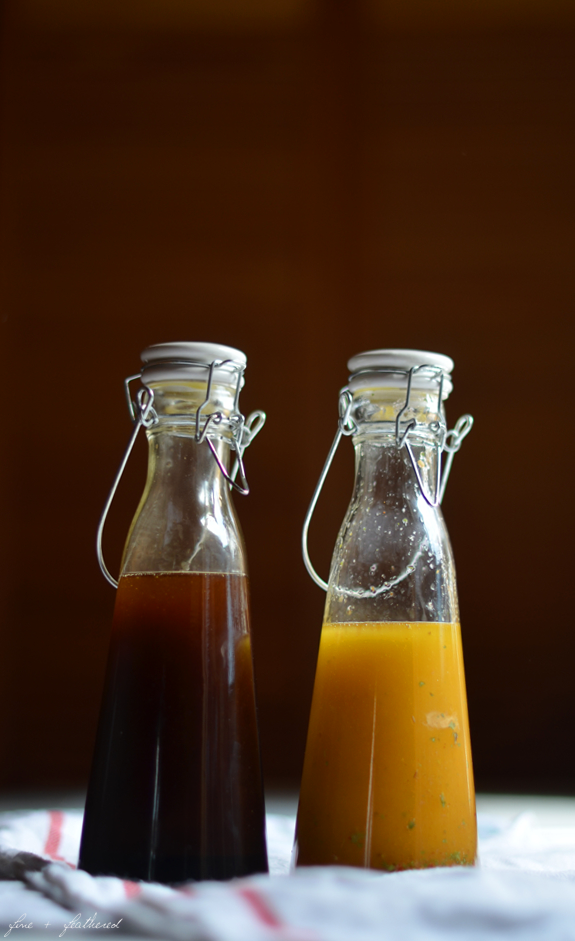 Fine and Feathered Balsamic Vinegar and Italian Dressings