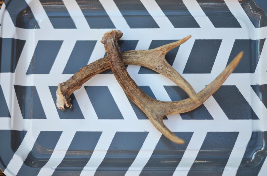 Fine and Feathered Herringbone Tray