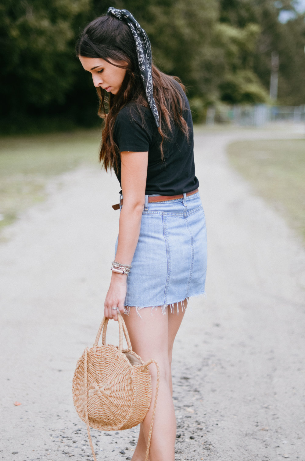 Fine and Feathered Summer Outfit Styling
