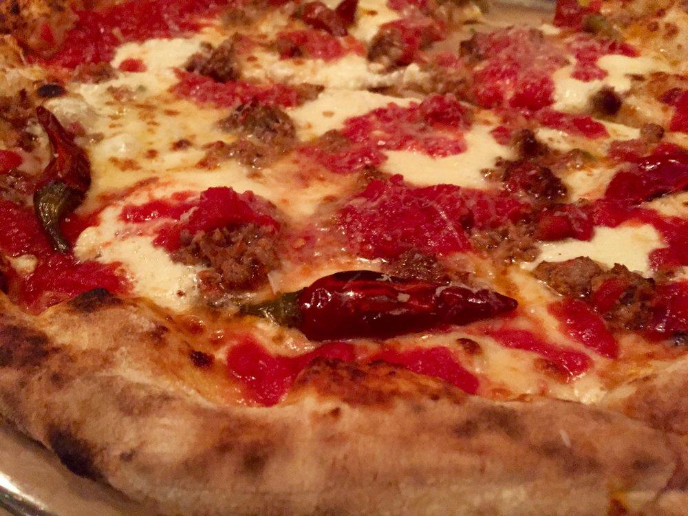 Pizza Lorraine, NYE 2015