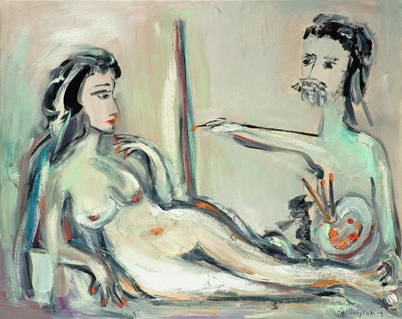 The Artist & His Model, III