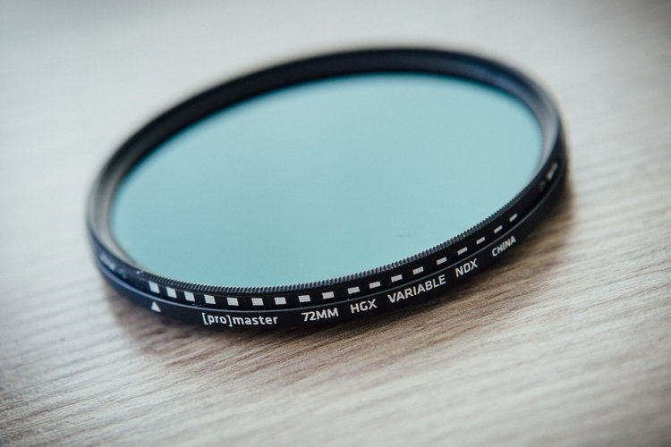Variable Neutral Density Filters