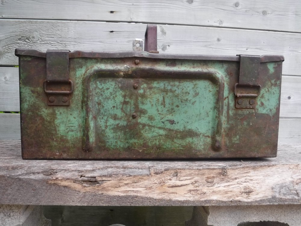 Ammo box from 1941.  A potential project.