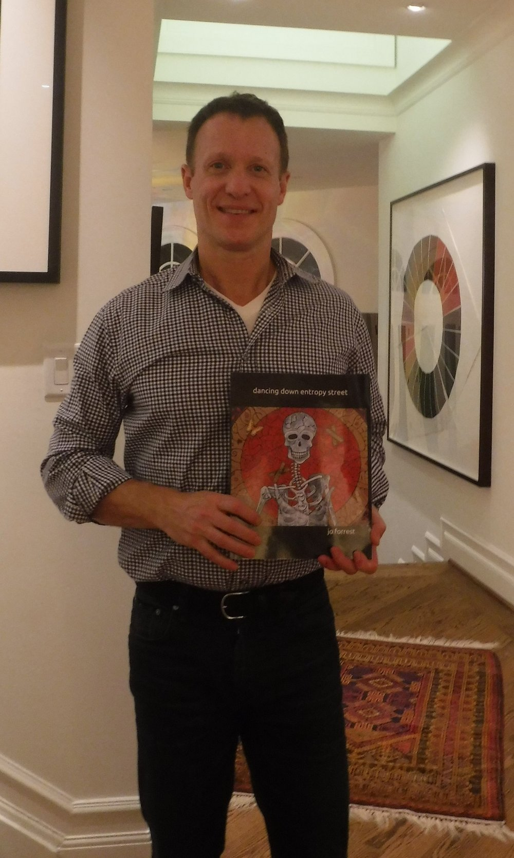 Harris, with the book..JPG