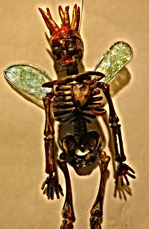 Skeleton fairy king.  Jo Forrest.