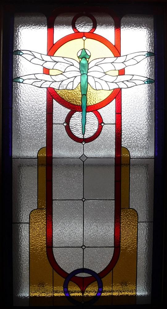Dragonfly window, whole window.