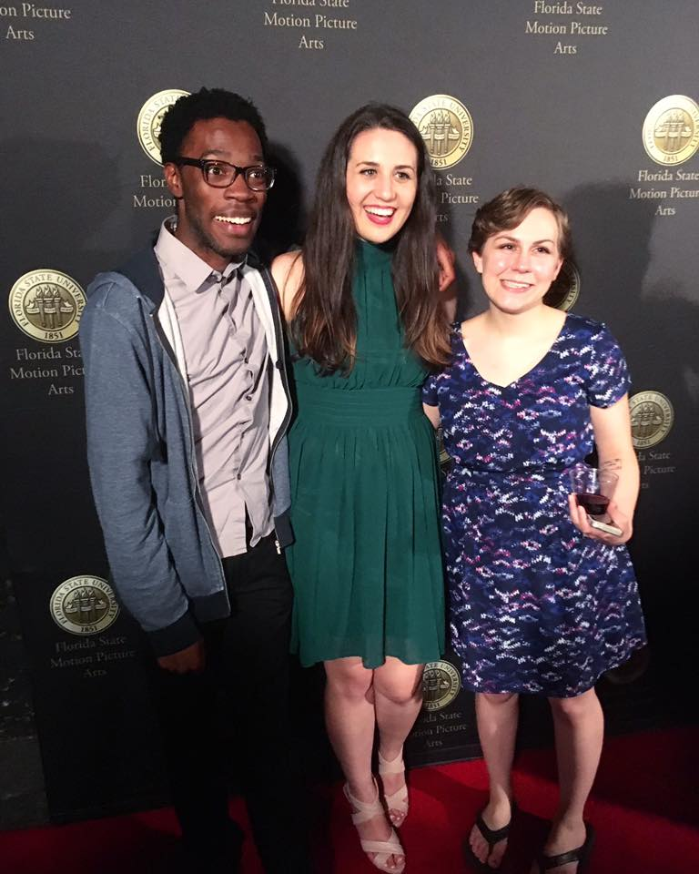 With directors Zach Hoskin and Emily Mills at the FSU Class of 2017 Thesis Screening