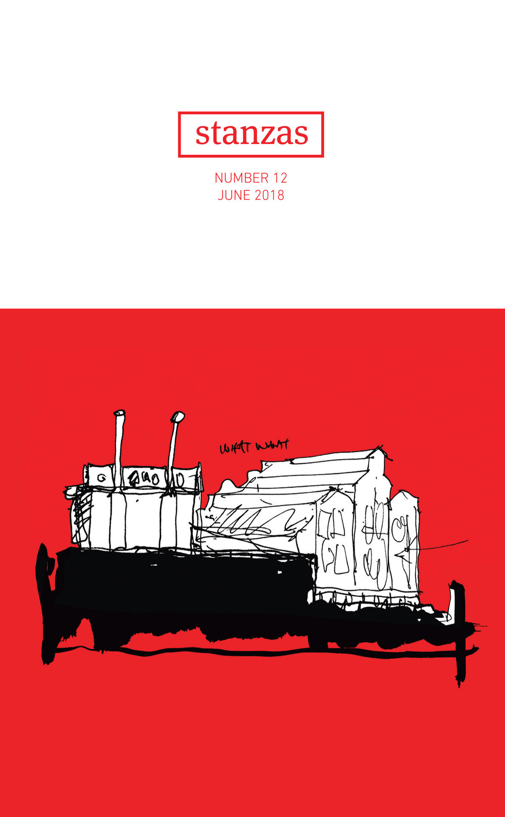 Stanzas July 2018   I am pleased to announce that my illustration entitled, 'Fable' (depicting the Turbine Hall of Newown, Johannesburg) has been featured on the front cover of 'Stanzas' - a poetry anthology produced in South Africa.  Special thanks go to:  Publisher:  African Sun Press   Editors: Patricia Schonstein and Douglas Reid Skinner Designer:  Gaelen Pinnock