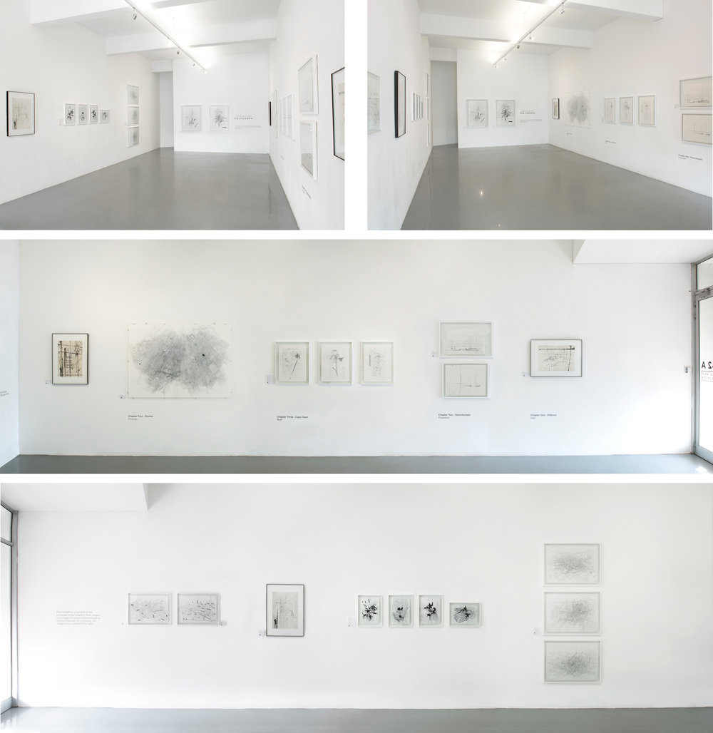 Polygraph   Interior photographs of the exhibition, recently closed on 24 November 2018. The show was a great success, and many thanks to  David Krut Projects .