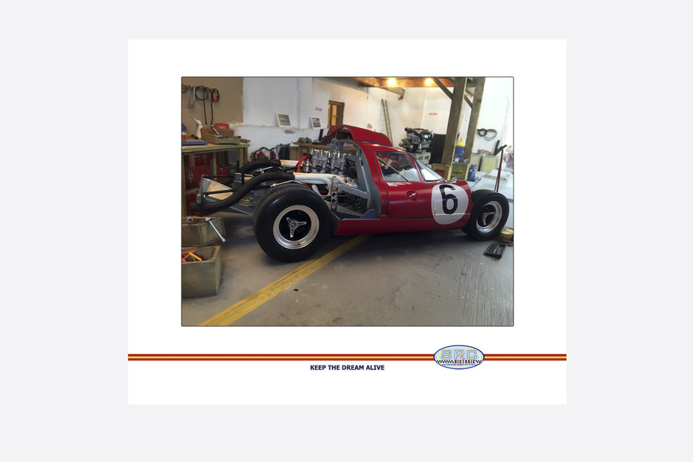 Lola T70 Mk3 Ascari Carter