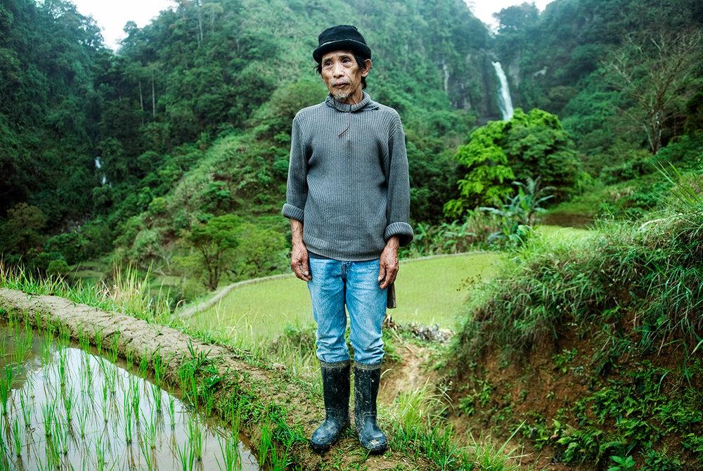 Filippino farmer.