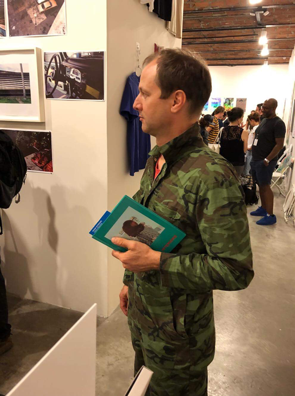 "Jason Fulford and ""Prism Interiors"" at the NEW YORK ART BOOK FAIR 2018"