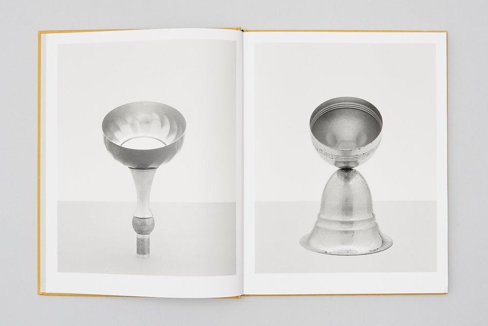A spread from TROPHIES by Simone Bergantini