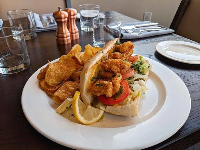 Shrimp Po' Boy Sandwich - $14 in January
