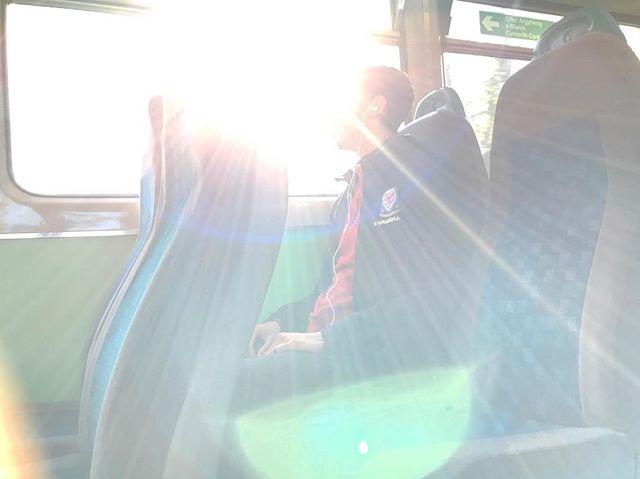Passenger. #journey #passenger #sunburst #faceless #sunflare #feelslikespring #iwasinwales #nowimback
