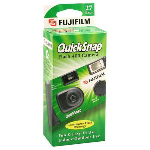 Disposable Camera    Something you can enjoy together! Going away soon? Take a photo a day to remember your trip, a timeless memory to look back on for years to come!