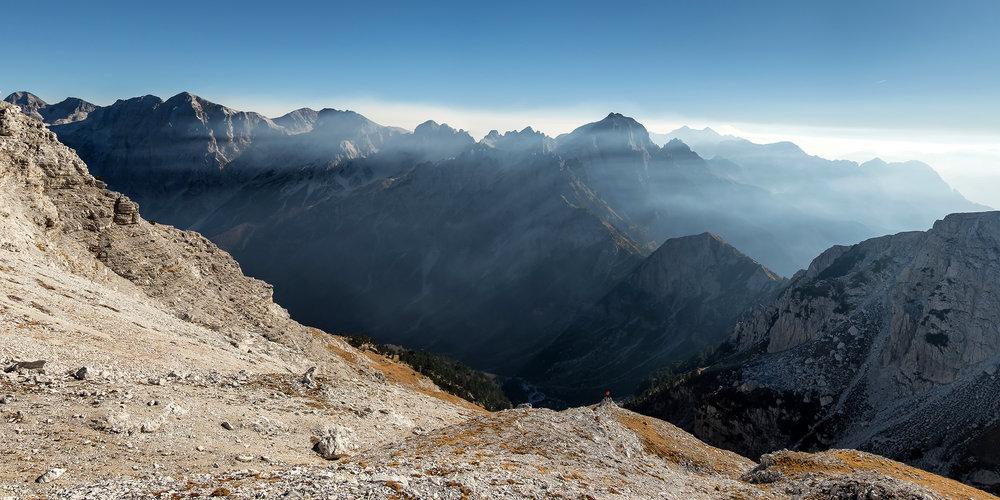 Valbone Valley Panorama