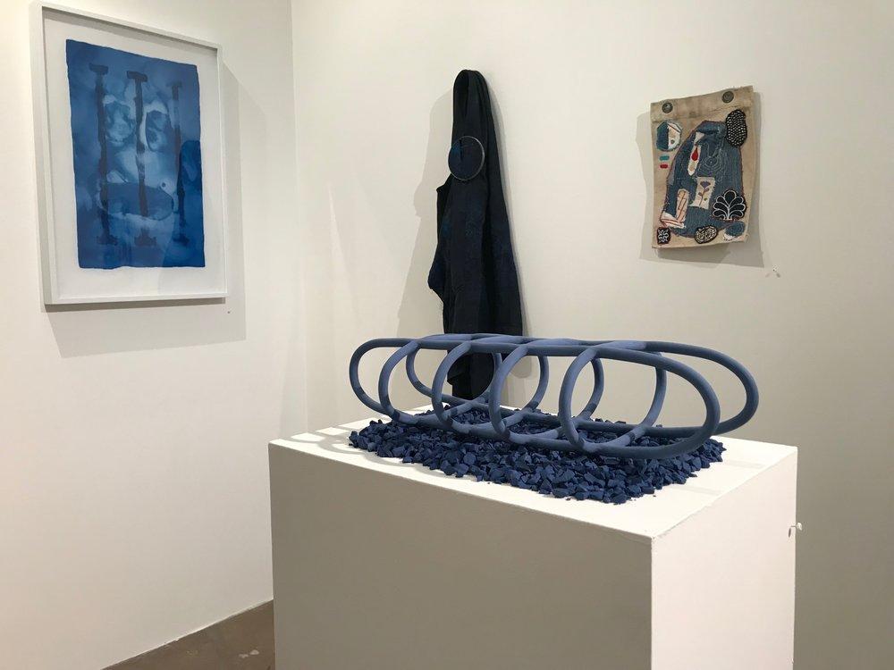 Artifact 007 , The Indigo Show, Recpec Gallery, Austin, TX  July 21, 2018 - September 8, 2018