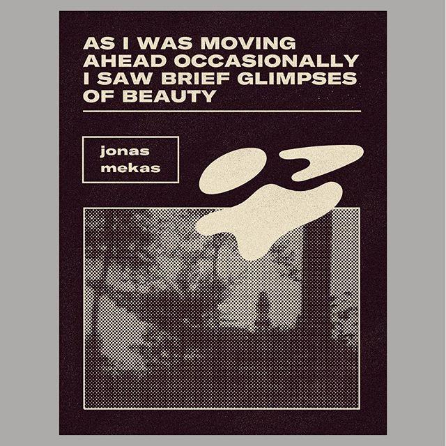 Rip Jonas Mekas. You are so important to me.